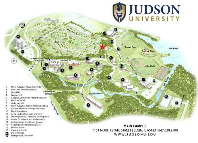Campus Map Small