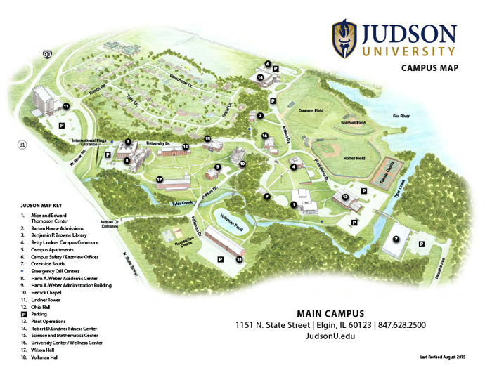 Campus Map Aug 2015 B