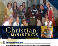 Christian Ministries Flyer Image