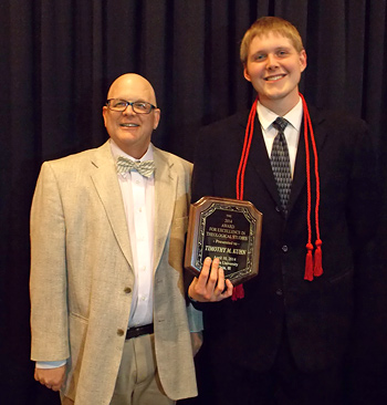 2014 Award Timothy Kuhn