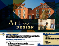 Art and Design Flyer Image