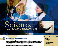 Science & Math Flyer Image