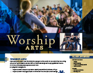 Worship Arts Flyer Image