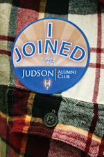 Judson Alumni Button