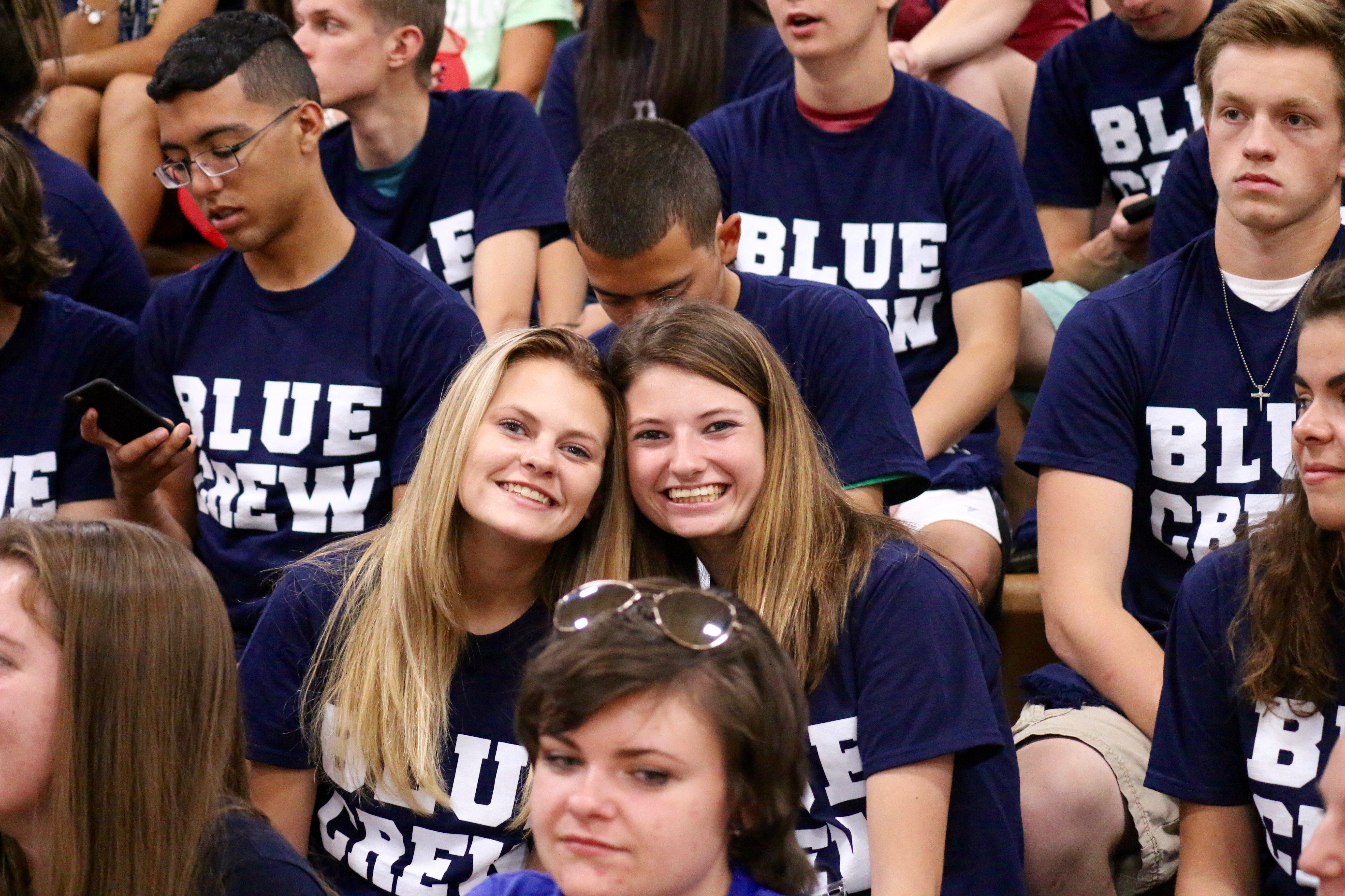 Welcome Weekend - Games and Blue Crew