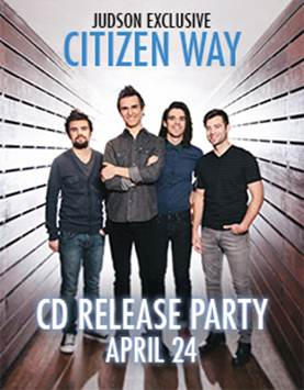 Citizen Way - CD Release Party 2013